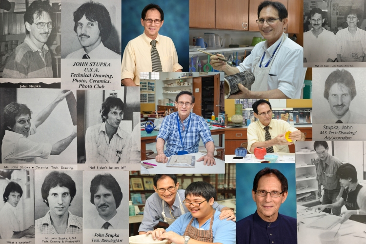 Mr Stupka collage